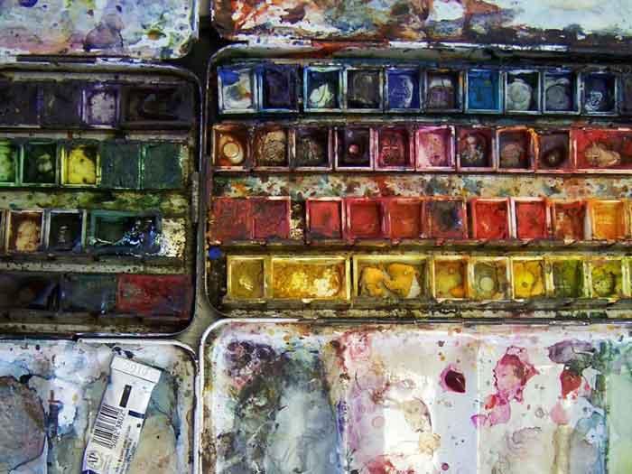 curus aquarelleren Atelier Jan Naezer
