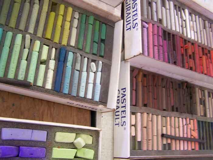 Pastelkrijt Atelier Jan Naezer